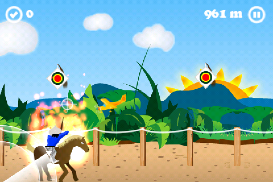 Screenshot Horseback Archery -Yabusame-