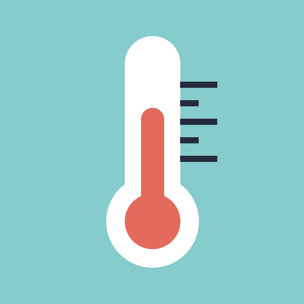 fever measuring thermometer by matteo tagliafico